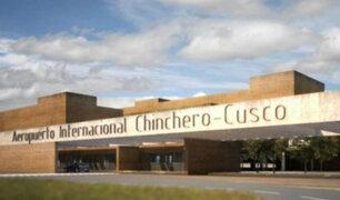 Todavía está pendiente el diseño del aeropuerto de Chinchero