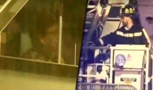 Chile: rescatan a mujer de 66 años que estuvo seis horas atrapada en un ascensor