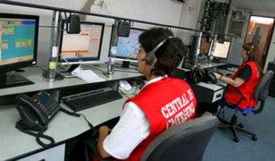 Bomberos: más del 90% de llamadas a central de emergencias son falsas
