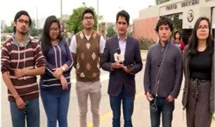 PUCP: estudiantes continúan en pie de lucha por devolución total de dinero
