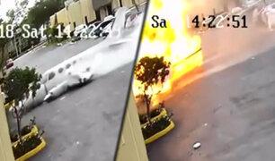 EEUU: avioneta se estrella contra vivienda en Florida y deja dos muertos