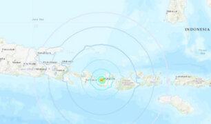 Sismo de 5,5 sacudió a Indonesia este jueves