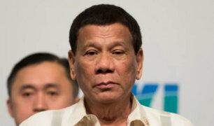 Filipinas: presidente Duterte ordena a la policía detener a quienes no usen mascarilla
