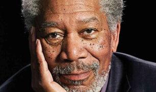 Periodista fabricó evidencias para acusar a Morgan Freeman de acoso sexual