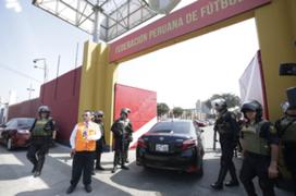 Ministerio Público allana oficinas de la FPF en la Videna