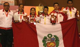 Perú suma medallas de oro y plata en Juegos Sudamericanos Escolares