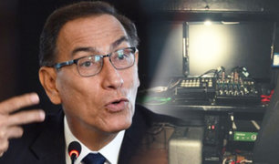"""Rechaza acusaciones: Presidente Vizcarra niega """"reglaje"""" a Alan García"""