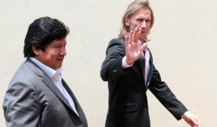 Edwin Oviedo: Ricardo Gareca se reunió con Juan Carlos Oblitas en la Videna