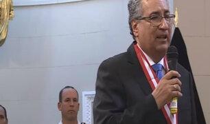José Luis Lecaros es elegido nuevo presidente del Poder Judicial