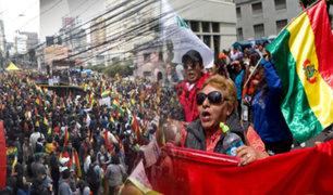 Bolivia: se realiza huelga en rechazo a la reelección de Evo Morales