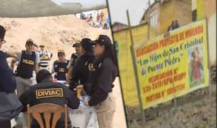 Puente Piedra: desarticulan banda dedicada al tráfico de terrenos