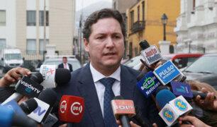 Bancada de Fuerza Popular presenta moción de censura contra Daniel Salaverry