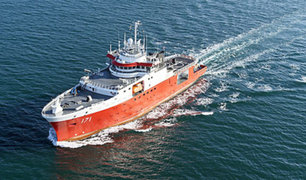 BAP Carrasco partió a la Antártida para estudiar el Fenómeno del Niño