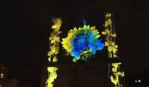Francia: inició el tradicional Festival de las Luces de Lyon