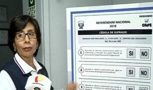 ONPE: recomendaciones a tomar en cuenta para las elecciones regionales y referéndum
