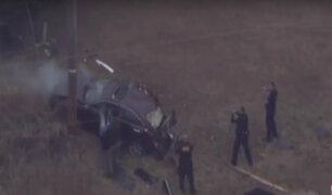 Estados Unidos: impresionante persecución policial se registra en Oklahoma