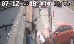 San Luis: hieren a 'jalador' de cevichería en avenida Rosa Toro