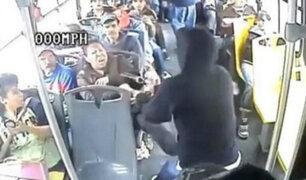 A poco de la navidad, aumentan asaltos a unidades de transporte público