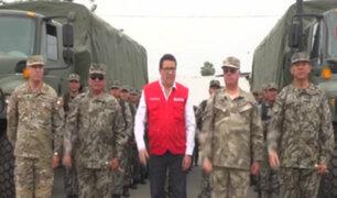 Referéndum: titular de Defensa anuncia que seguridad está garantizada