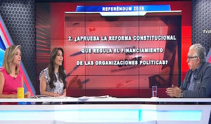 Agustín Figueroa analiza el financiamiento público de las organizaciones políticas