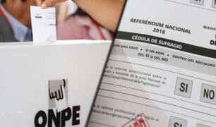 Referéndum 2018 y segunda vuelta se vienen realizan con normalidad a nivel nacional