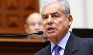 Premier César Villanueva presentó carta de renuncia al Gobierno