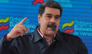 Venezuela: Maduro asegura que Estados Unidos planea golpe de estado