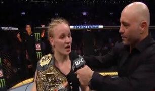 UFC 231: Valentina Shevchenko es la nueva campeona de peso mosca