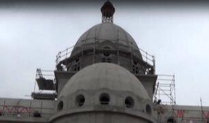 Párroco pide apoyo para finalizar obras de reconstrucción de Iglesia de Luren