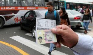 MTC: 1950 licencias de conducir entregaron centros de Lince y Orrego en reinicio de actividades
