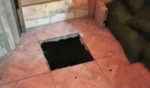 Iquitos: delincuentes hacen túnel de casi 20 metros y roban 50 mil soles