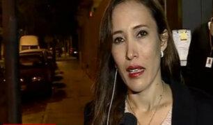 Paloma Noceda acusó a congresista López Vilela por tocamientos