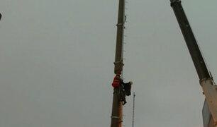 Breña: continúan protestas por instalación de antena de telefonía