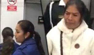 Cajamarca: mujer que sufre cáncer denuncia maltrato por parte de trabajadores de una línea aérea