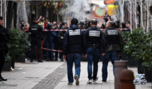 Francia: continúa búsqueda del autor de tiroteo que dejó a 4 personas fallecidas y 12 heridos