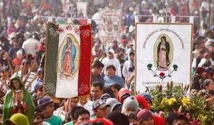 México: millones de fieles celebran el día de la Virgen de Guadalupe