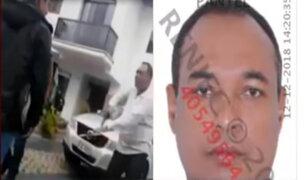Sucamec canceló licencia para portar armas a sujeto que amenazó repartidores