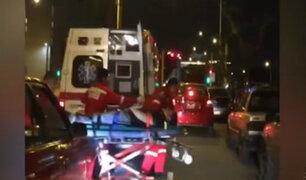 Lanzan campaña para que conductores cedan el paso a ambulancias