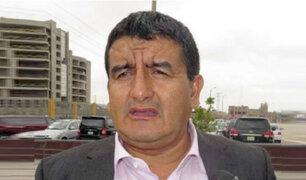 PJ ordena detención del gobernador de Lambayeque, Humberto Acuña