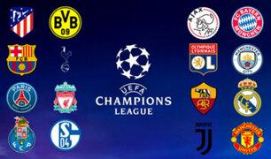 Champions League : así quedaron conformados los bombos para octavos de final