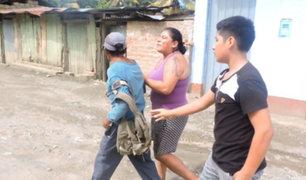 VRAEM: mujer capturó a sujeto cuando intentaba abusar de una niña de 8 años