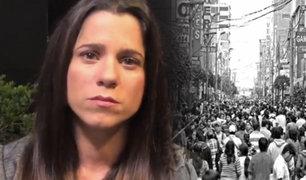 Vanessa Terkes denuncia que están usando su nombre para ofrecer trabajos en La Victoria