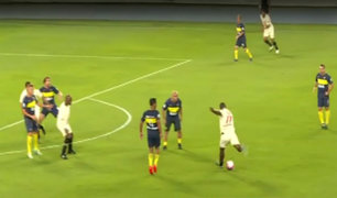 Universitario empató 1-1 ante Boca Juniors en partido de leyendas