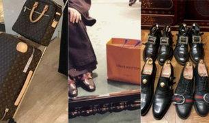 Santo lujo: cura tiene colección de zapatos y bolsas de diseñador