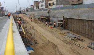 Las obras de La Costa Verde Callao continuarán paralizadas