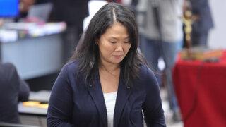 """Keiko Fujimori tras retorno de su padre al penal: """"Solo quiero pedirles un poco de compasión"""""""