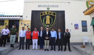 Ministro de Justicia visitó establecimiento penitenciario de Ayacucho