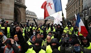 Nueva protesta de los 'chalecos amarillos' paraliza Francia