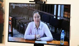 "PJ: apelación de Keiko Fujimori se resolverá ""en un plazo razonable"""
