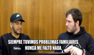 Las impactantes confesiones de Neymar